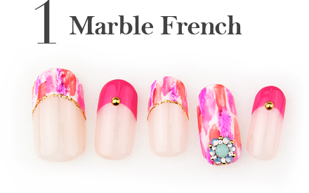 1.Marble French